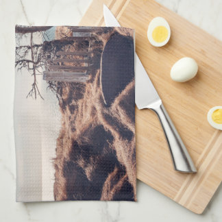 Graveyard by the sea kitchen towels
