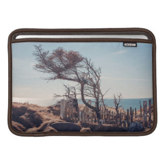 Graveyard by the sea sleeve for MacBook air
