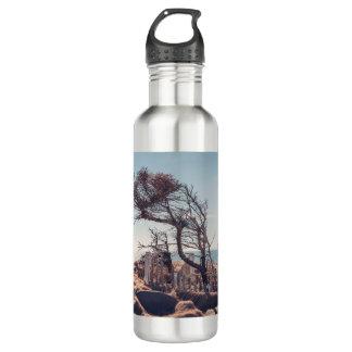 Graveyard by the sea water bottle