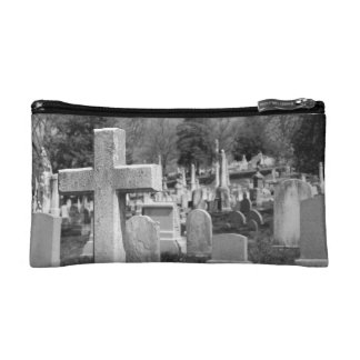 graveyard cosmetic bag