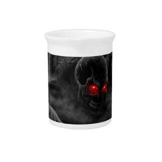 Graveyard Demon Rising Hell on Earth Pentagram Drink Pitcher