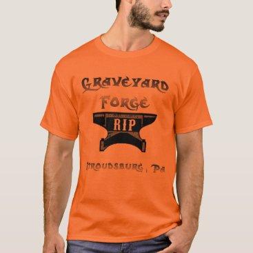Halloween Themed graveyard forge T-Shirt