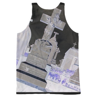 Graveyard Front and Back Printed Tank