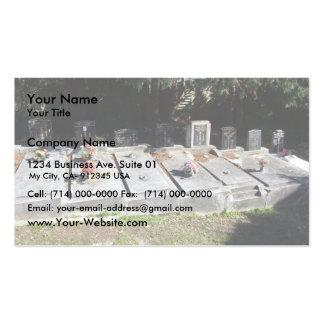 Graveyard Full Of Graves Business Card