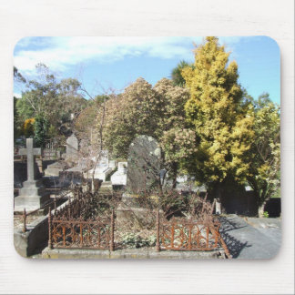Graveyard Full Of Graves Mouse Pad