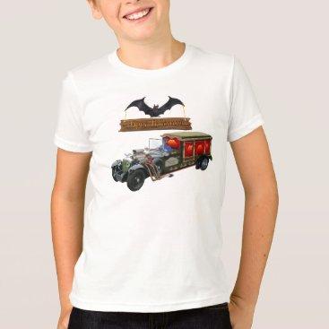Halloween Themed GRAVEYARD GHOST TOURS T-Shirt