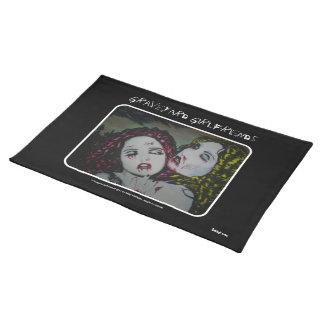'Graveyard Girlfriends'  American MoJo Placemat