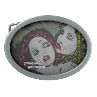 'Graveyard Girlfriends' Belt Buckles