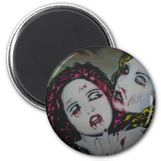 'Graveyard Girlfriends' Magnet