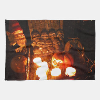 Graveyard Gnome I Hand Towels