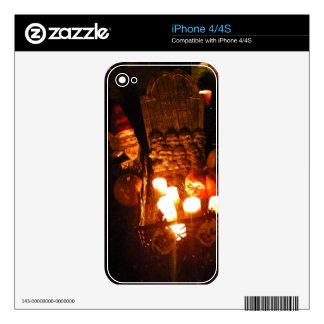 Graveyard Gnome I iPhone 4 Decals