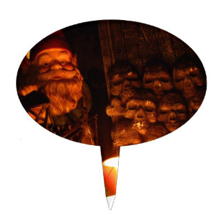 Graveyard Gnome II Cake Topper