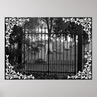 Graveyard Greetings! - Poster #2 print
