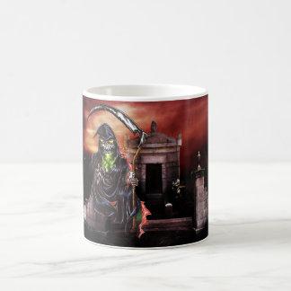 Graveyard Grim Reaper Coffee Mug