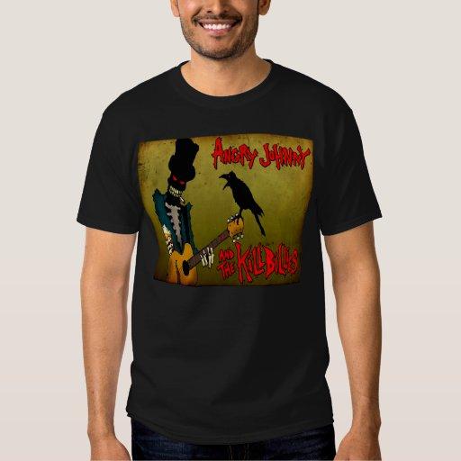 Graveyard Guitar Player T-Shirt