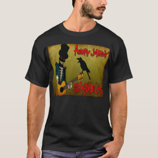 Graveyard Guitar Player T-Shirt