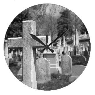 graveyard large clock