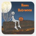 Graveyard Mummy,  Halloween Sticker