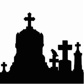 Graveyard Night Cutout