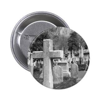 graveyard pinback button