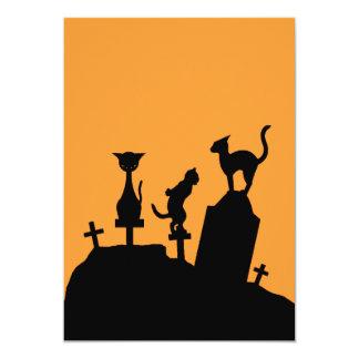 "Graveyard Reunion Invite 5"" X 7"" Invitation Card"
