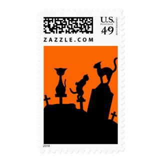 Graveyard Reunion Stamp