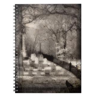 Graveyard Soul Spiral Notebook