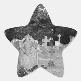 Graveyard Star Sticker