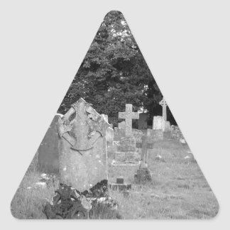 Graveyard Triangle Sticker