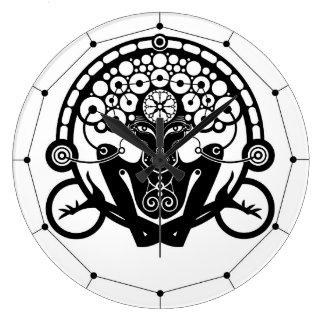 Gravitación Reloj Redondo Grande