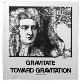 Gravitate Toward Gravitation (Issac Newton) Napkin