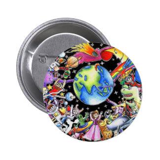 Gravitation Pinback Button