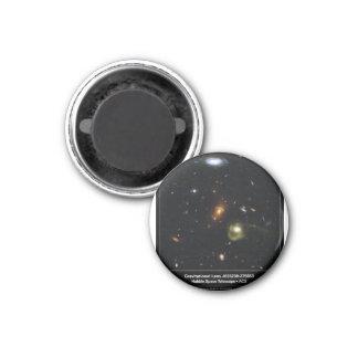 Gravitational Lens Bending Light 1 Inch Round Magnet
