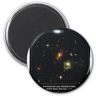 Gravitational Lens Bending Light 2 Inch Round Magnet