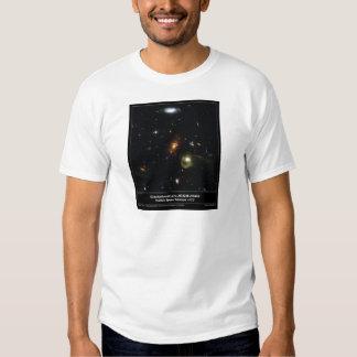 Gravitational Lens Bending Light Tee Shirt