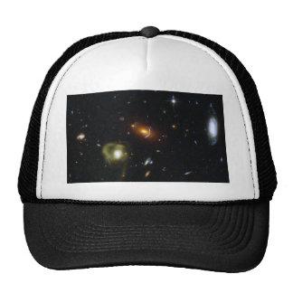 Gravitational Lens Bending Light Trucker Hat