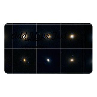 Gravitational Lens Candidates Business Card Template