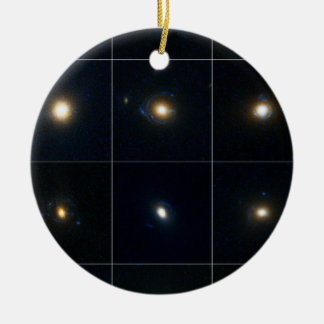 Gravitational Lens Candidates Christmas Tree Ornament