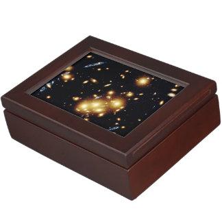 Gravitational Lens Captures Image of Primeval Gala Memory Box