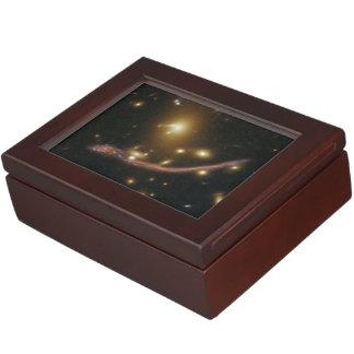 Gravitational Lens Detail in Abell 370 Keepsake Box