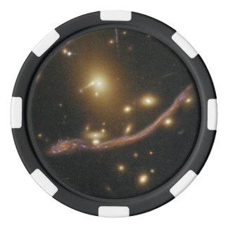 Gravitational Lens Detail in Abell 370 Poker Chips Set