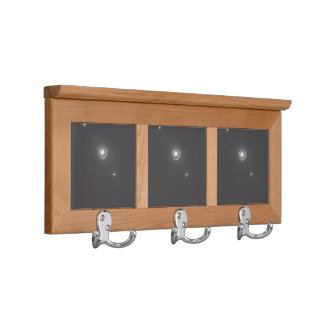 Gravitational Lens System Coat Rack