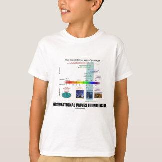 Gravitational Waves Found Inside Spectrum T-Shirt
