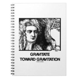 Gravite hacia la gravitación (Issac Newton) Note Book