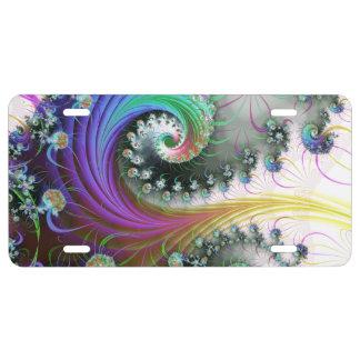 Gravities Rainbow License Plate