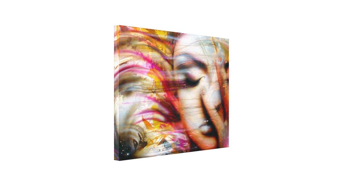 """Gravity..."" ArteKaos Wrapped Canvas Print"