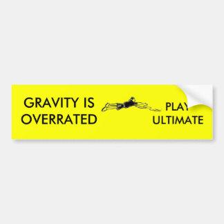 Gravity Bumper Sticker Car Bumper Sticker