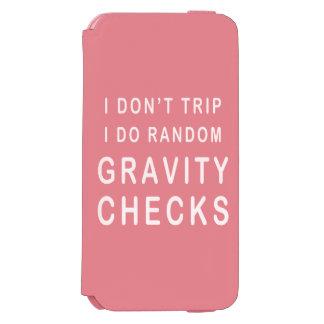 Gravity Check Incipio Watson™ iPhone 6 Wallet Case