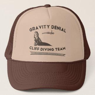 Gravity Denial Cliff Diving Team Trucker Hat