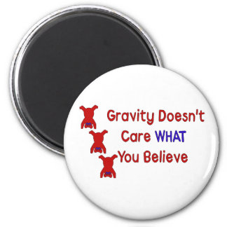 Gravity Doesn't Care Magnet
